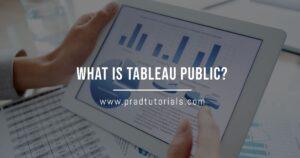 what is tableau public