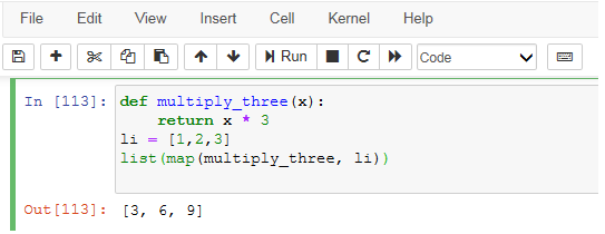 map function work - Python Interview Questions