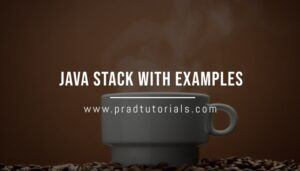 java stack