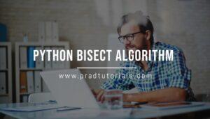 Python Bisect Algorithm