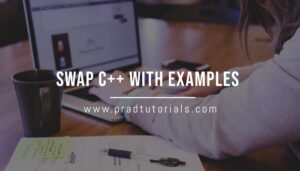 Swap C++ with Examples