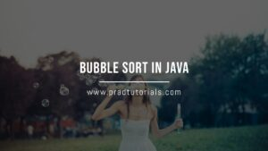 Bubble Sort in Java