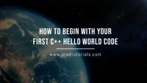 C++ hello world