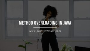 method overloading in java