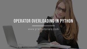 Operator Overloading in Python