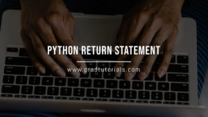 python return